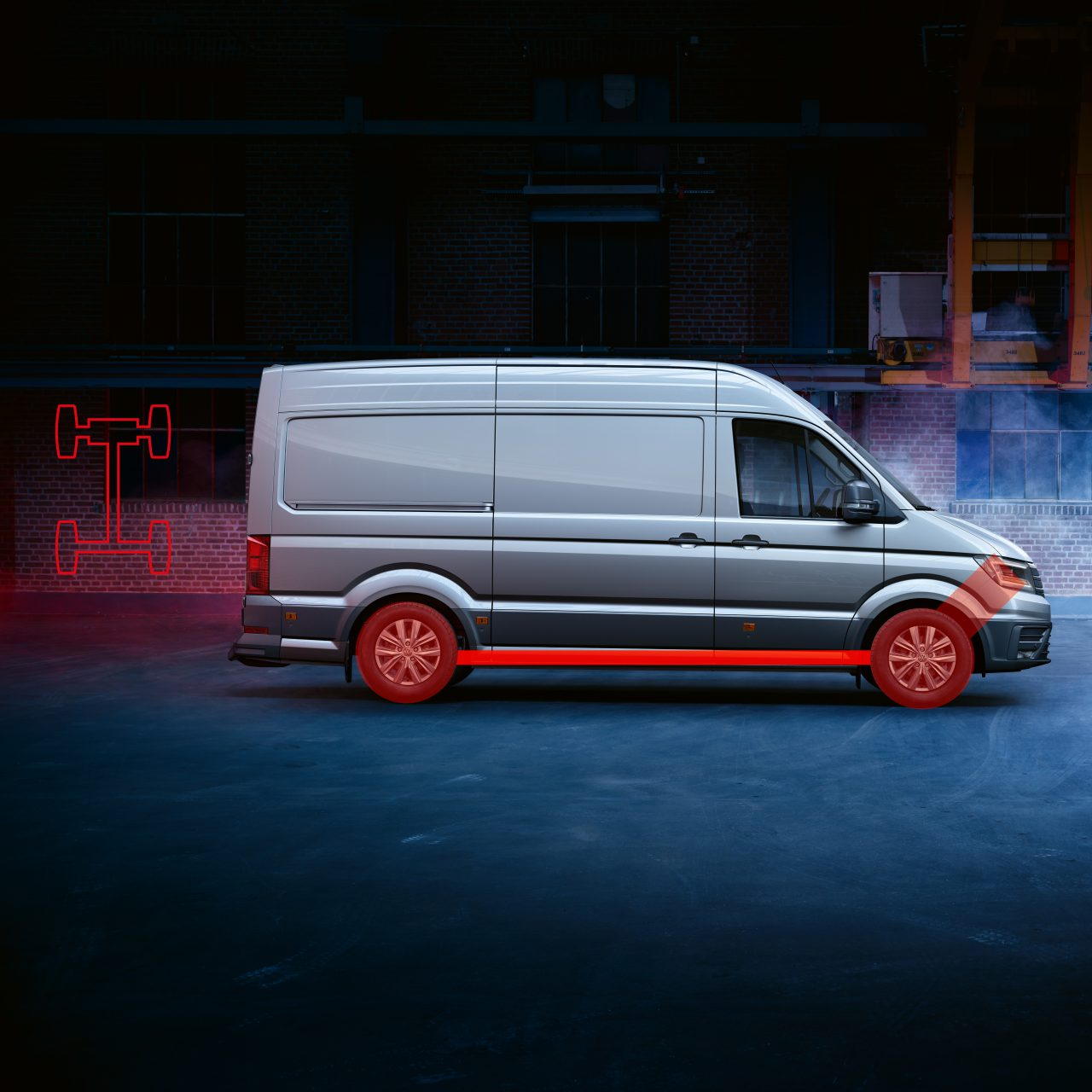 Полный привод 4MOTION Volkswagen Crafter